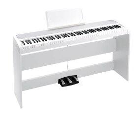 【2級品】【外箱に傷あり】KORG B1SP WH 電子ピアノ ホワイト