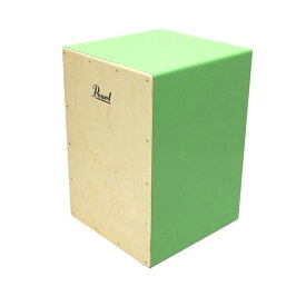 Pearl パール カホン ジュニア PCJ-CVJ/LG COLOR BOX CAJON ライトグリーン ソフトケース付 子供