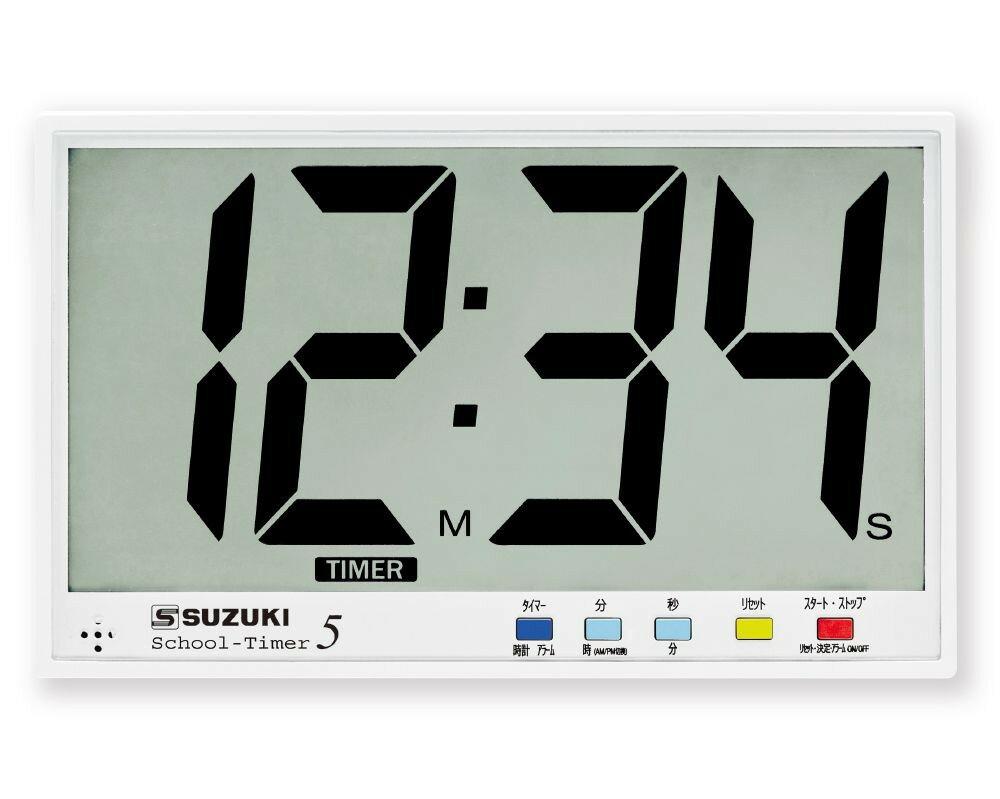 スズキ スクールタイマー5 SUZUKI STEX-05 鈴木楽器 大画面