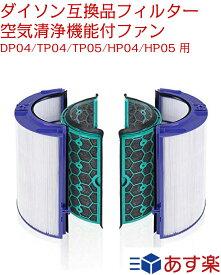 ダイソン dyson 交換用フィルター 空気清浄器 ファン 空気清浄機用フィルター TP04 DP04 HP04 グラスHEPAフィルター  活性炭フィルター 送料無料