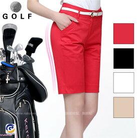 ゴルフウェア レディース ショートパンツ ゴルフ 膝上 大きいサイズ ストレッチ 短パン おしゃれ 春夏 夏用 スポーツ