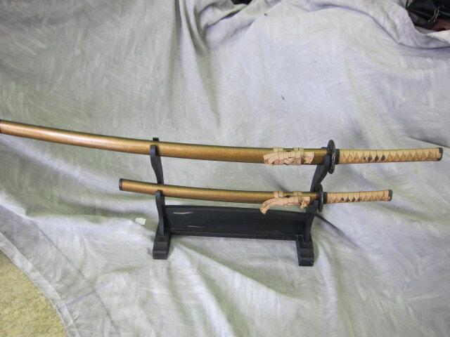 美術、飾り刀剣セット【中古】