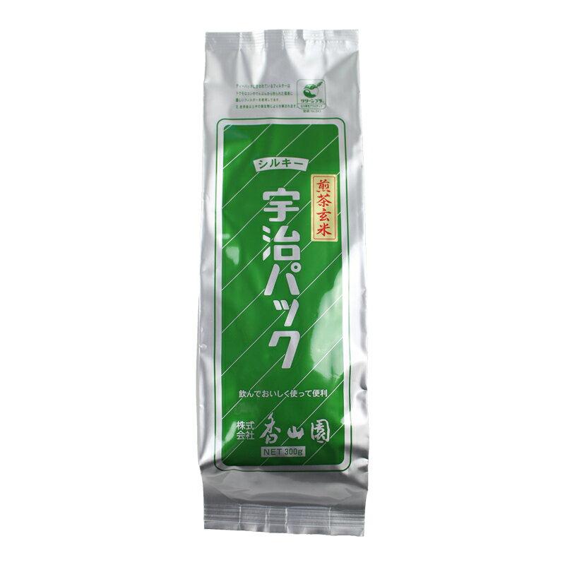 シルキー煎茶玄米茶ティーバッグ 300g自社製造商品 お茶