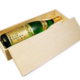 木箱(かぶせ式一升瓶1本用)
