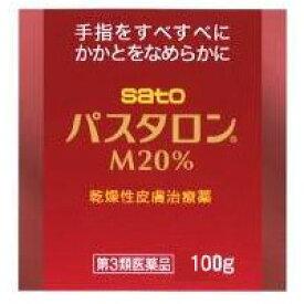 佐藤製薬 パスタロンM20% 100g・ジャー×2 2582 【あす楽対応】 【第3類医薬品】