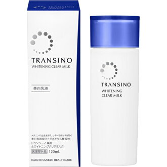Transit no medicinal whitening clear milk 120ml×2 [trance no medicinal beauty white LaTeX, 6648
