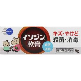 イソジン軟膏5g 【あす楽対応】 630 【第3類医薬品】