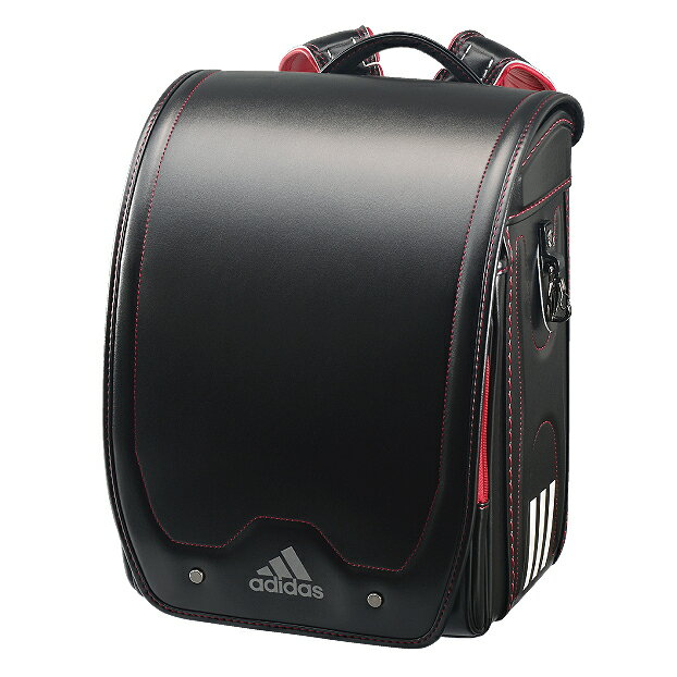 アディダスキューブ型ブラック×レッド35619-10(男の子向けランドセル)【2020年最新ランドセル】