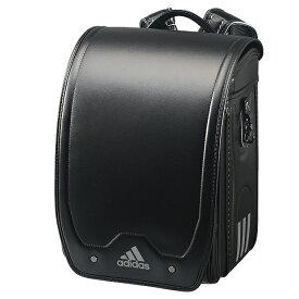 アディダス キューブ型ランドセル ブラック/ブラック 男の子 35619-01