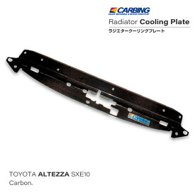 トヨタ アルテッツァ(SXE10)ラジエタークーリングプレート カーボン