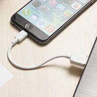 送料無料月間優良ショップLightningケーブル認証ライトニングケーブルiPhoneX対応AppleMFi認証通信充電ケーブル10cm/50cm/1mホワイトメール便