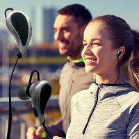 【月間優良ショップ】【送料無料】BluetoothヘッドセットスマホAndroid対応MicroUSB充電ケーブル付音楽や通話をワイヤレスで楽しめる【ブラック】0610【ゆうパック】