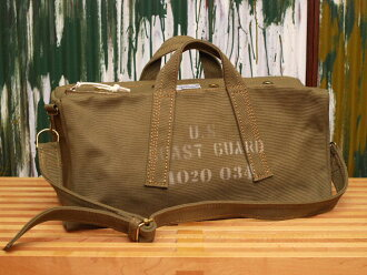 "Hinson bag ""BOAT-BAG, U. S. COAST GUARD MOD."" olive"
