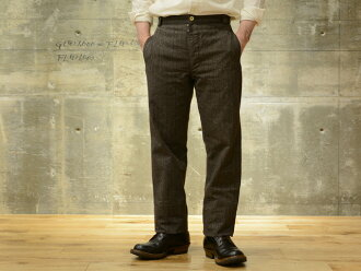 "Sugar Cane MISTER FREEDOM (Mr. freedom) trousers ""VALSEUR"" 杢 cover toss tripe black"