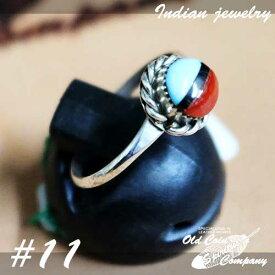 インディアンジュエリー リング #11 シルバー ターコイズ Indian jewelry - Ring メンズ レディース ギフト プレゼント おすすめ