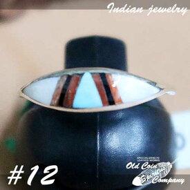 インディアンジュエリー リング #12 シルバー ターコイズ Indian jewelry - Ring メンズ レディース ギフト プレゼント おすすめ