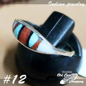 インディアンジュエリー リング #13 シルバー ターコイズ Indian jewelry - Ring メンズ レディース ギフト プレゼント おすすめ