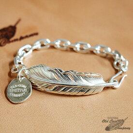 ブレスレット シルバー フェザー フェザーブレスレット Silver Feather Bracelet - 当店オリジナル ショップオリジナル メンズ レディース ペア カップル おすすめ ギフト プレゼント