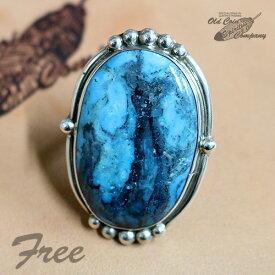 インディアンジュエリー リング #Free シルバー ターコイズ Indian jewelry - Ring - Stormy Mt ストーミーマウンテン 鉱山 メンズ レディース ギフト プレゼント おすすめ