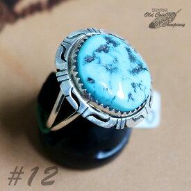 インディアンジュエリー リング #12 シルバー ターコイズ Indian jewelry - Ring - メンズ レディース ギフト プレゼント おすすめ