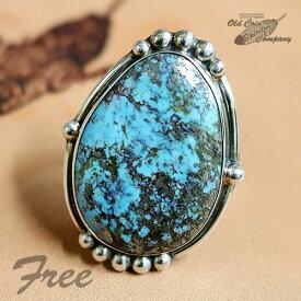 インディアンジュエリー リング #Free シルバー ターコイズ Indian jewelry - Ring - Kingman Mt キングマン 鉱山 メンズ レディース ギフト プレゼント おすすめ