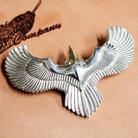 ネックレス ペンダント イーグル Eagle necklace - メンズ 当店オリジナル シルバー K18 ゴールド 手作り ハンドメイド 当店オリジナル
