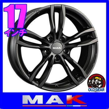【BMW1シリーズ/2シリーズ/5シリーズ専用】◆MAKLUFTマックルフト◆サイズ:17×7.5J+435H-120ボア径:72.6◆カラー:マットブラック◆新品ホイール:4本セット