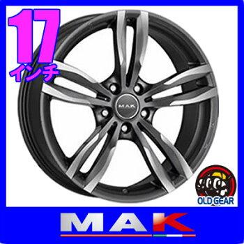 【BMW2シリーズアクティブツアラー等に】◆MAKLUFTFFマックルフトFF◆サイズ:17×7.5J+545H-112ボア径:66.6◆カラー:ガンメタリックミラー◆新品ホイール:4本セット