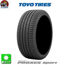 国産タイヤ単品 215/45R18 TOYO TIRES トーヨータイヤ PROXES SPORT プロクセス スポーツ 新品 4本セット