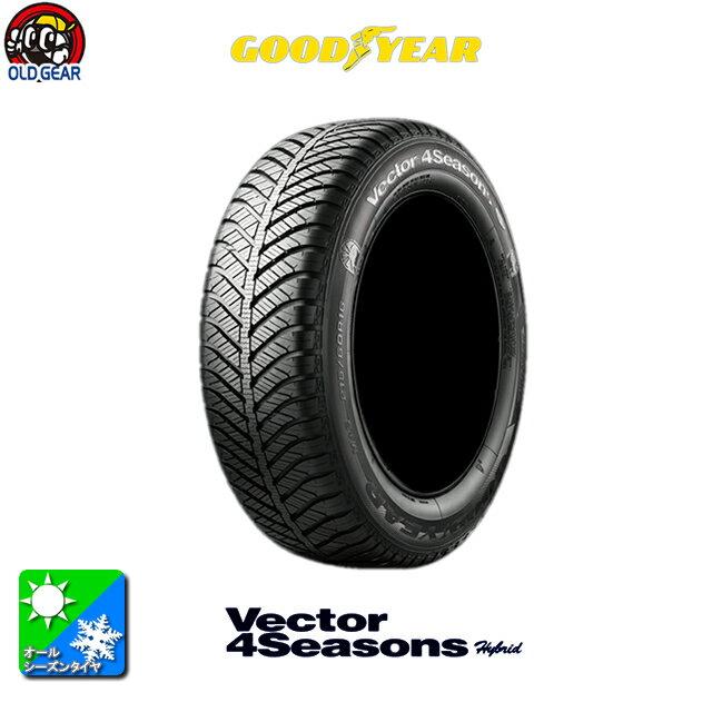 国産タイヤ単品 205/70R15 GOODYEAR グッドイヤー ベクター 4シーズンズ ハイブリッド 新品 1本のみ