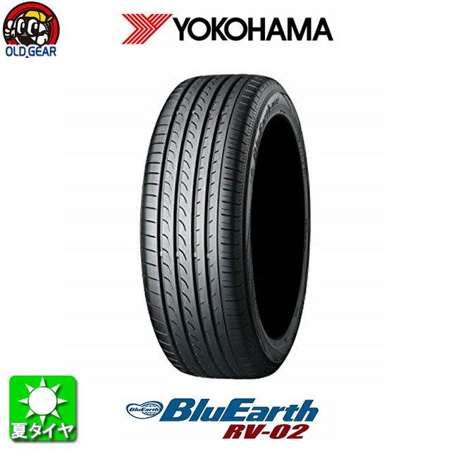 国産タイヤ単品 215/45R18 YOKOHAMA ヨコハマ ブルーアース RV 02 新品 4本セット