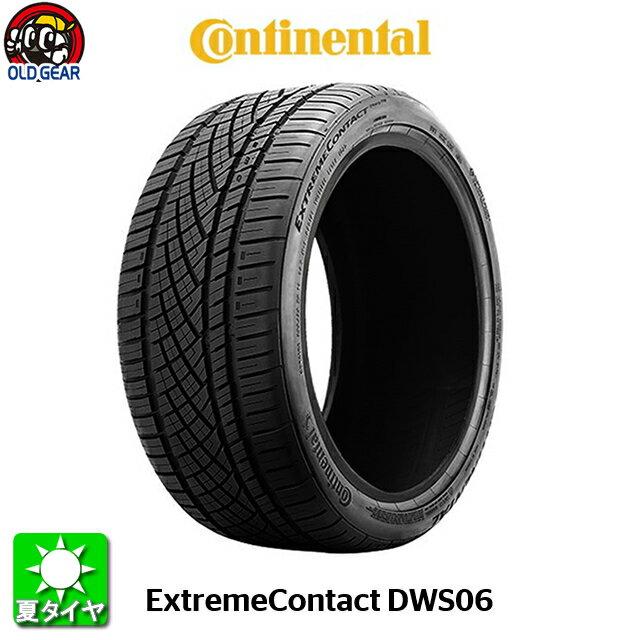 タイヤ 235/45R18 18インチ Continental コンチネンタル エクストリームコンタクト DWS06 新品 4本セット パーツ