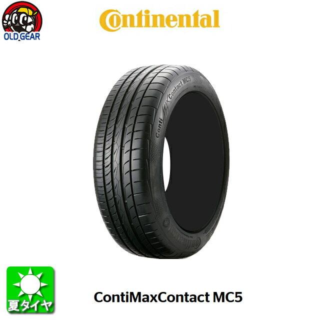 国産タイヤ単品 225/55R16 continental コンチネンタル コンチマックスコンタクト MC5 新品 1本のみ