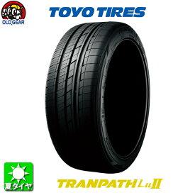 国産タイヤ単品 235/50R18 TOYO TIRES トーヨータイヤ TRANPATH LU2 トランパス LU2 新品 1本のみ
