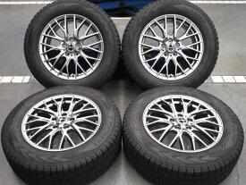 未使用 ホイールタイヤ 4本セット 225/65R17 社外 エクシーダー E05 17x7J+48 5H114.3 未使用 ラジアル タイヤ 特選輸入タイヤ
