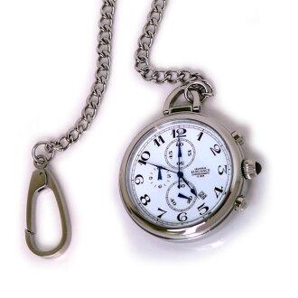鸿威 グランドールエレガンス 计时码表功能用口袋里的手表 OSC012 W1 色 / 白