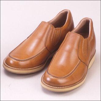 Casual up No.523 5.5 cm-up leather casual up (slipponsidegoa)