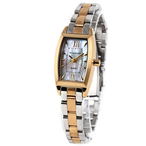 Mauro Jerardi マウロジェラルディ トノーソーラーシェル レディース腕時計 MJ033-2