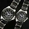 Jerardi Mauro Mauro Gerardi stainless steel & ceramic solar mens watch black MJ041-1