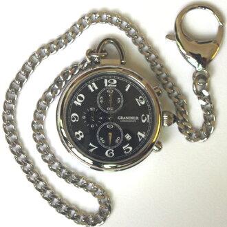 莊嚴盛大 ruleregans 計時功能與口袋手錶 OSC012 W 2 顏色和黑色