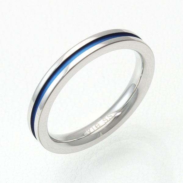 vie/ヴィー ステンレス デザインリング/ブルー vie-R1143BL 【ギフトOK】【smtb-k】【楽ギフ_包装】