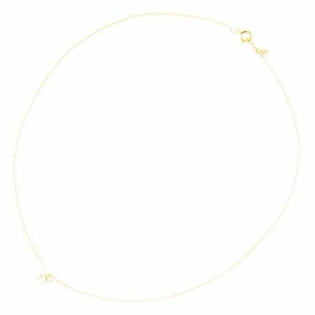 KAMIORI KAORI リボンのネックレス gold