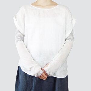 中川政七商店米ぬかしっとり指とおしアームカバー