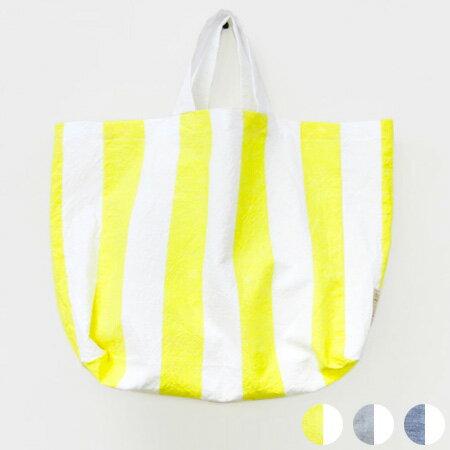 【ゆうメール選択で送料無料】 中川政七商店 綿麻しましまエコバッグ