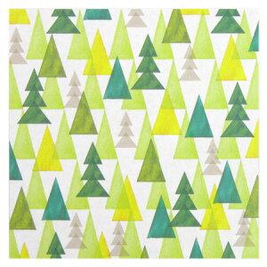 オリガミオリガミ水彩森柄