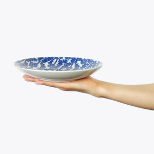 倉敷意匠計画室KATAKATA印判手七寸皿