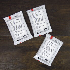 THE WET TOWEL ポケットタイプ 3袋セット