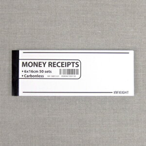 INFIEIGHT MONEY RECEIPT 領収書
