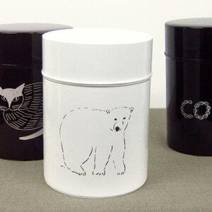 コーヒー缶 L
