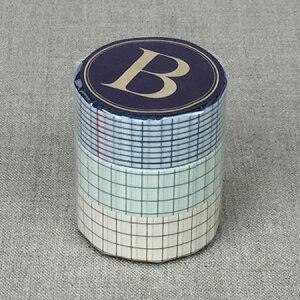 倉敷意匠計画室 方眼マスキングテープ(18mm)3色セット